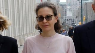 Nxivm: Seagram heiress Clare Bronfman jailed in 'intercourse cult' case